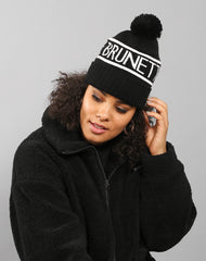 The Brunette toque in black by Brunette the Label.