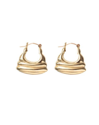 "The ""CARAMEL"" Earrings 
