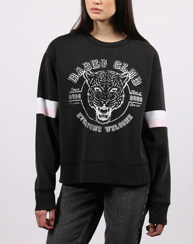 "The ""DEFINITION OF A BABE"" Classic Crew Neck Sweatshirt 