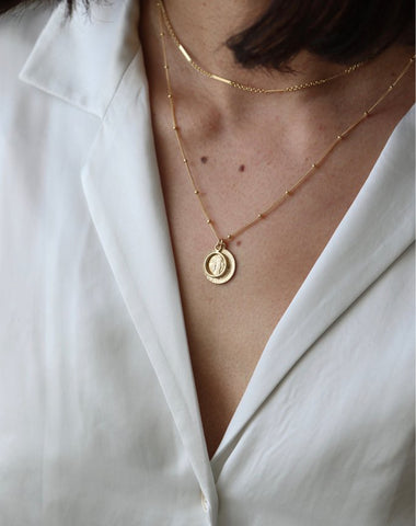 "The ""MARIE"" Pendant Necklace 