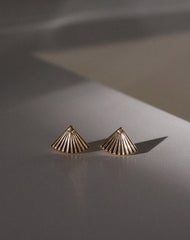 "The ""FAN"" Dual Studs 