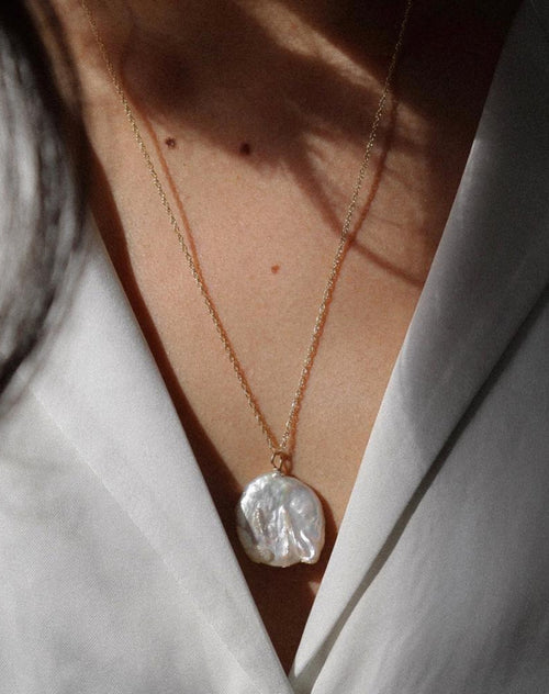 "The ""JOELLE"" Pearl Pendant 