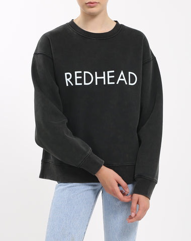 "The ""REDHEAD VARSITY"" Step Sister Crew Neck Sweatshirt 