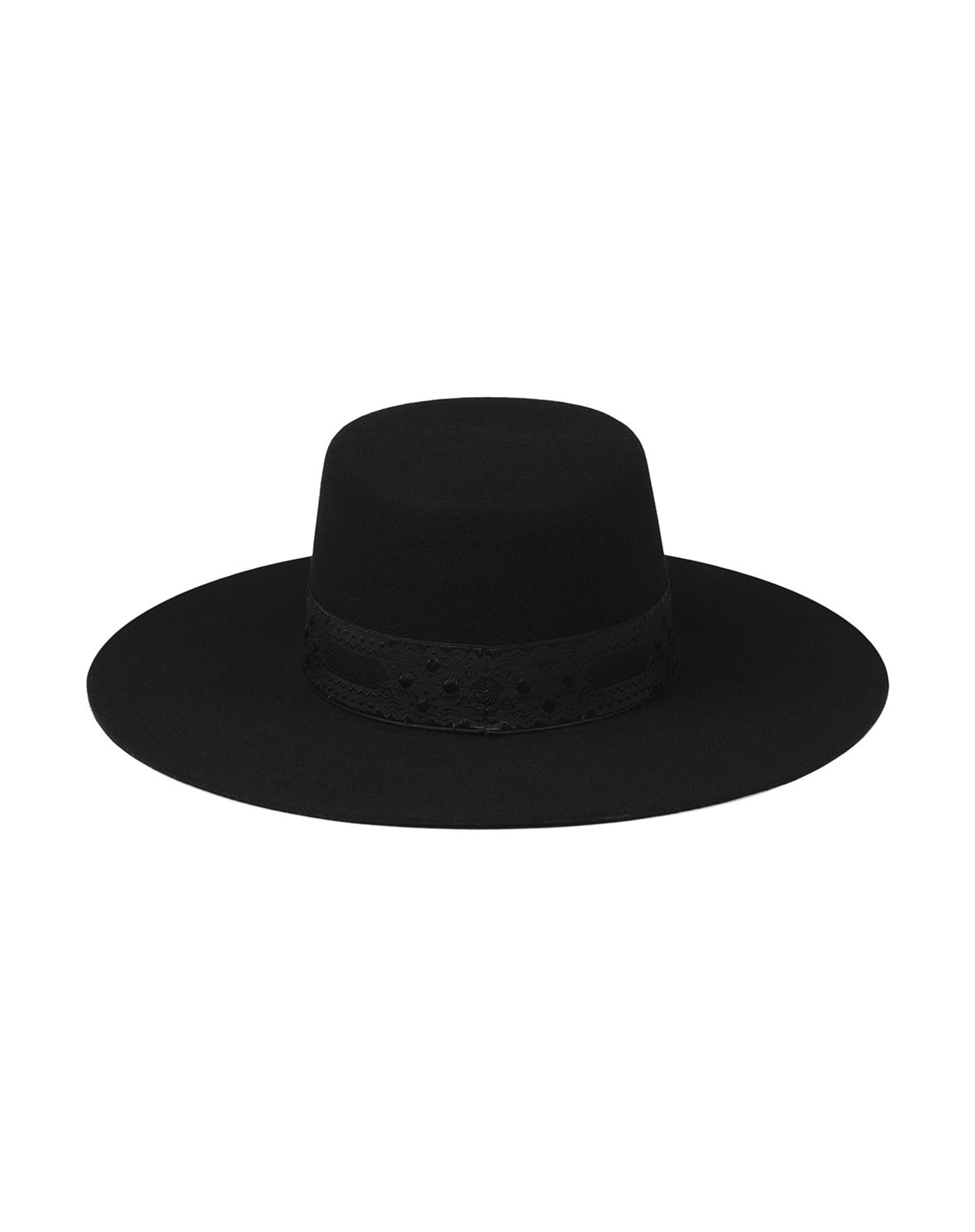 "The ""Sierra"" Hat in Black 