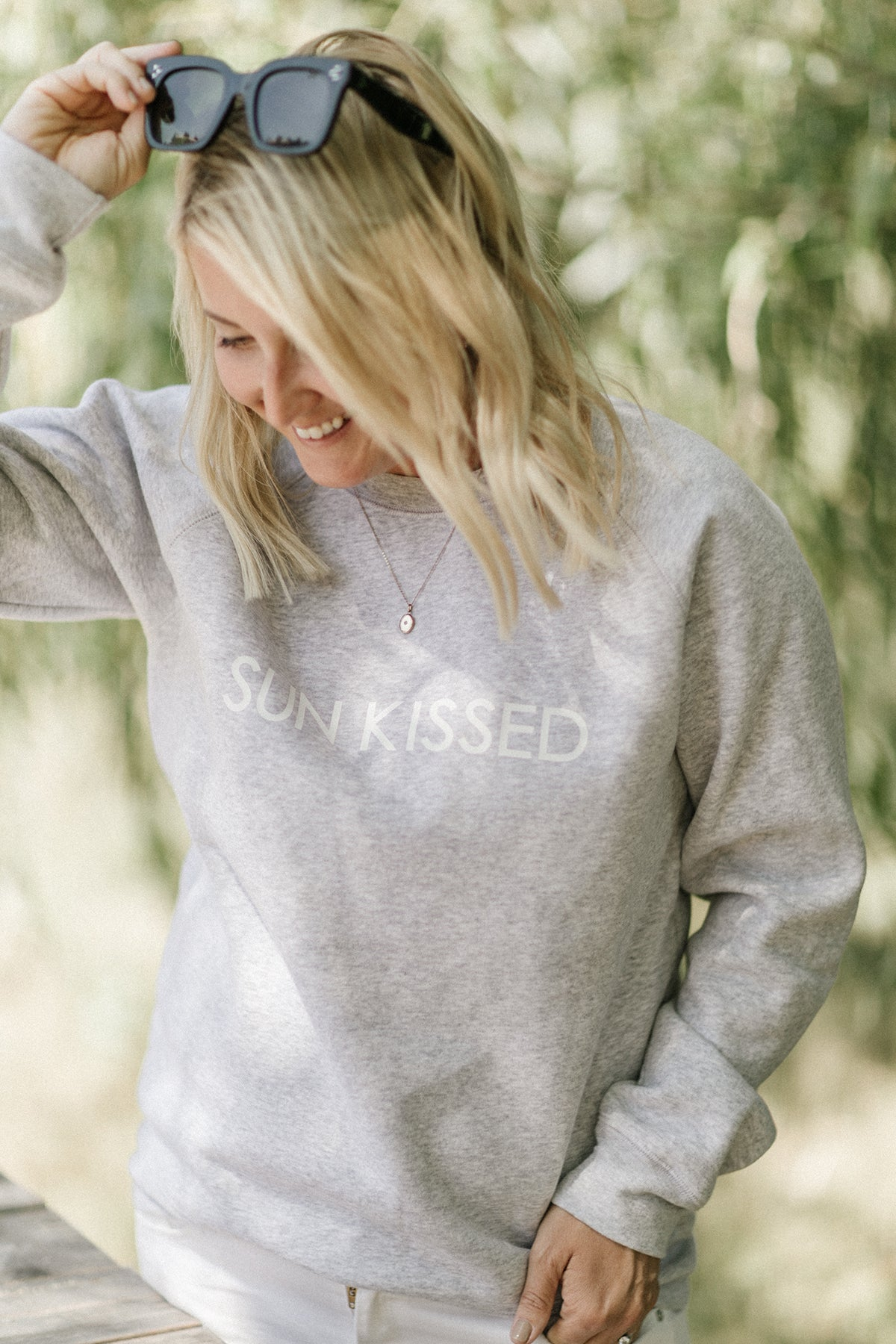 "The ""SUN KISSED"" Classic Crew Neck Sweatshirt 