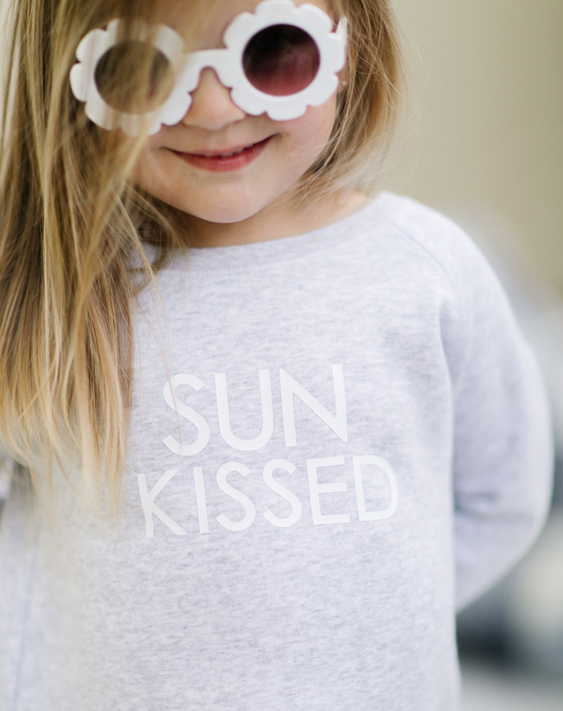 "The ""SUN KISSED"" Little Babes Classic Crew Neck Sweatshirt 