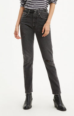 "The ""BLACK MAIL"" 501 Skinny Jeans 
