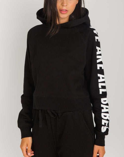 "The ""WE ARE ALL BABES"" Little Sister Hoodie"