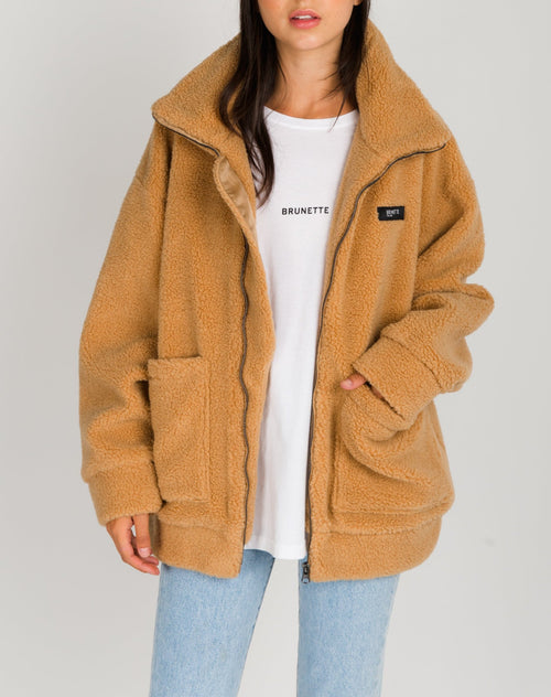 "The ""JOSEPHINE"" Teddy Jacket 