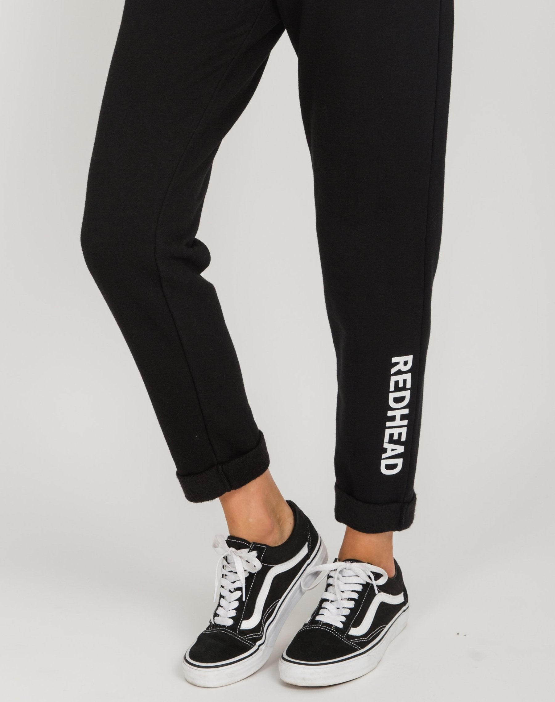 "The ""REDHEAD"" Rolled Cuff Joggers 