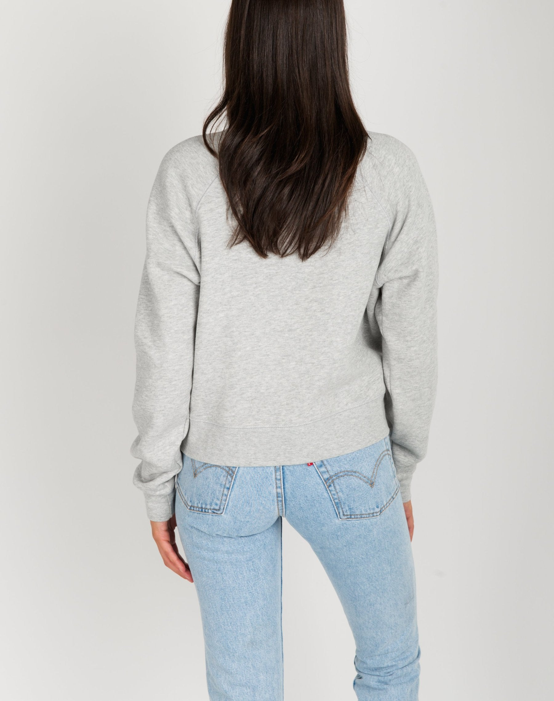 "The ""BRUNETTE"" Little Sister Crew Neck Sweatshirt 