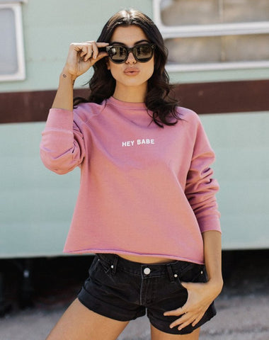 "The ""HEY BABE"" Mini Graphic Tee 
