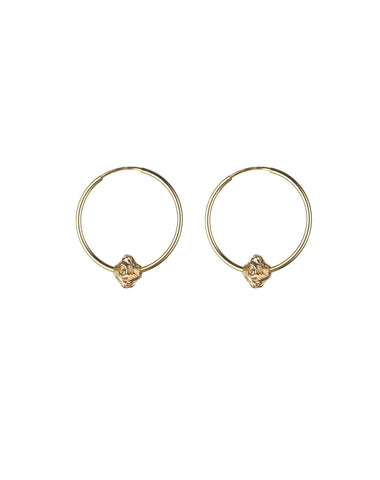 "The ""SAVILE"" Hoops 