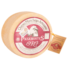 Load image into Gallery viewer, Pasamontes Artisan Manchego Cheese