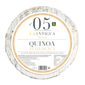 Sheep Milk Cheese with Quinoa