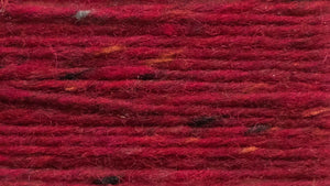 Raphoe Donegal Aran tweed (a strong, christmas red tweed)