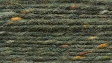 Indlæs billede til gallerivisning Dunglow Donegal Aran Tweed (a dark green with natural flecks)