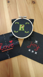 Christmas Embroidery Workshop - 10th October