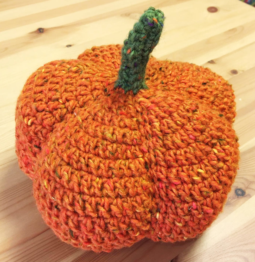 Country Pumpkin - Crochet kit