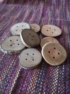 Wooden Buttons (large)