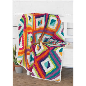 WYS Summer's Dawn Blanket - Pattern Only