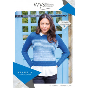 WYS Arabella Striped Jumper - Pattern Only