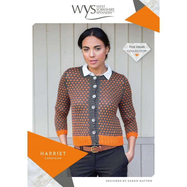 WYS Harriet Cardigan - Pattern Only