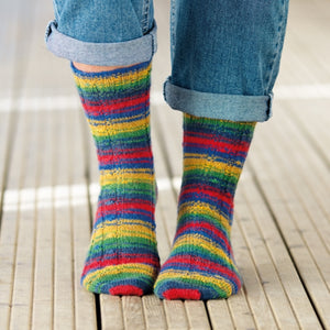 WYS Winwick Mum Sock Pattern Collection