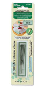 Clover Needle Felting Tool Refill Needles (5pcs)