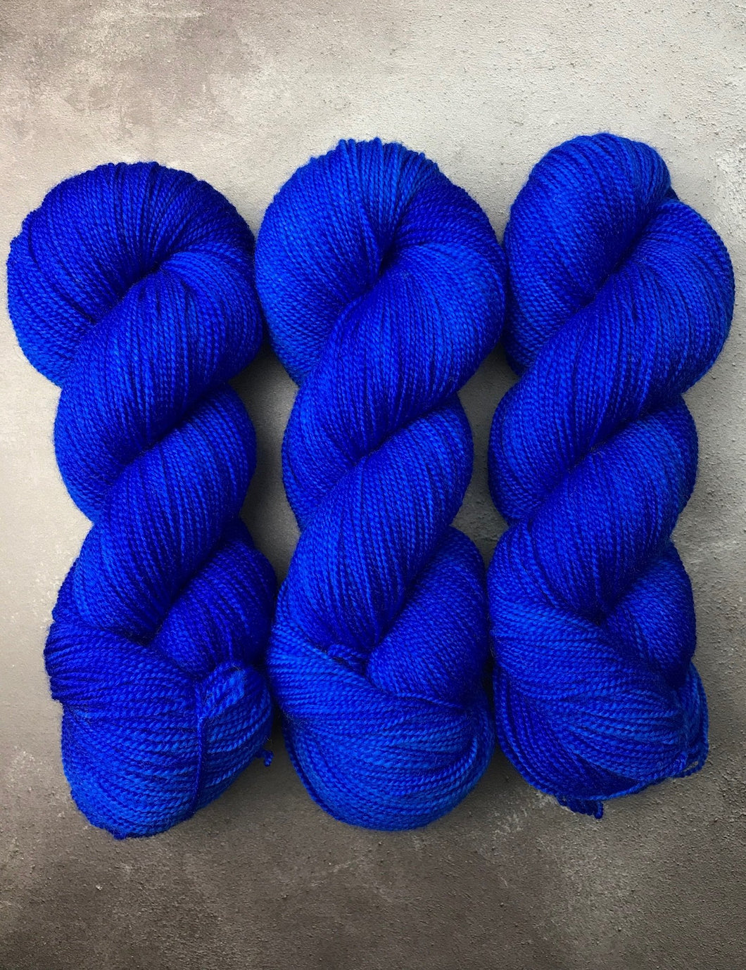 Lapis (Corriedale High Twist Sock)