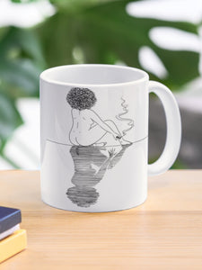 Mirrors & Smoke Reading Mug