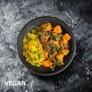 Satay Sweet Potato Curry | Vegan Meals | Healthier Meals Delivered
