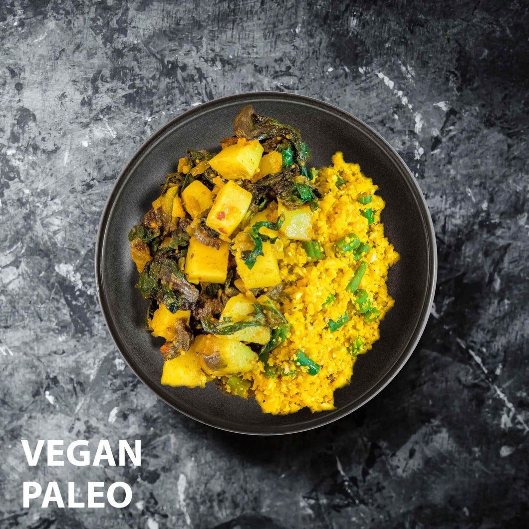 Saag Aloo | Paleo Meals | Vegan Meals | Healthier Meals Delivered