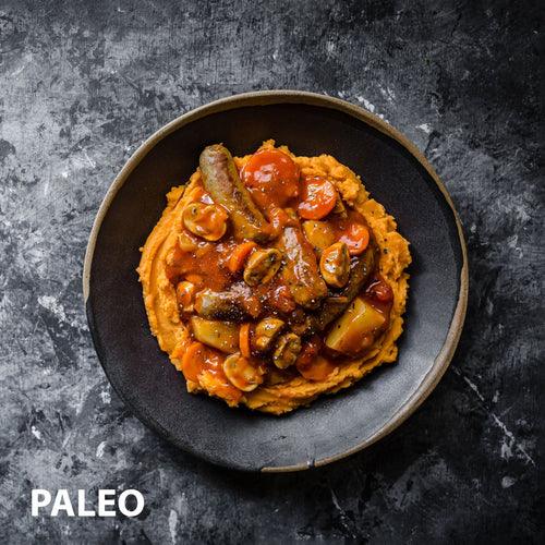 Sausage Hotpot  | Paleo Meals | Healthier Meals Delivered