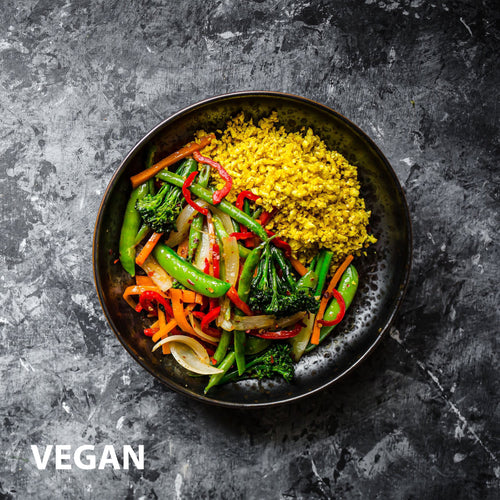 Vegetable Stir-fry | Vegan Meals | Healthy Meals | Ready Made Meals