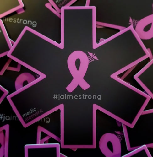 #jaimestrong Supporter Decal - Uniformed Services Peer Council