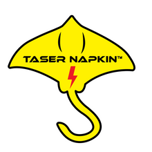 Load image into Gallery viewer, Taser Napkin Sticker