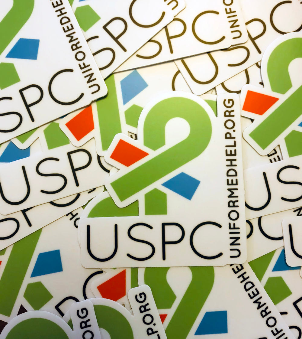 USPC Decal - Uniformed Services Peer Council