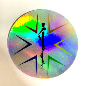 LGBT EMS & Friends Holographic Sticker - Uniformed Services Peer Council