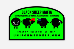 Black Sheep Mafia Decal - Uniformed Services Peer Council