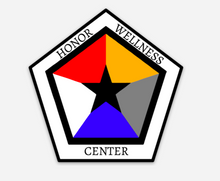 Load image into Gallery viewer, Honor Wellness Center Decal - Uniformed Services Peer Council
