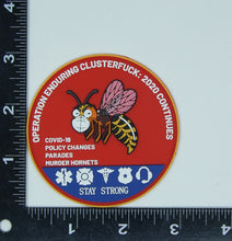 Load image into Gallery viewer, Charlie Foxtrot Murder Hornet (PVC Patch)