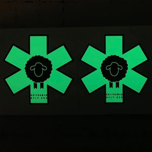 Black Sheep EMS GITD Sticker