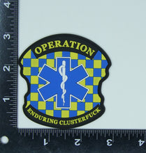 Load image into Gallery viewer, Charlie Foxtrot PVC Patch - Uniformed Services Peer Council