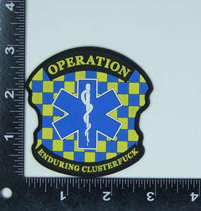 Charlie Foxtrot PVC Patch - Uniformed Services Peer Council