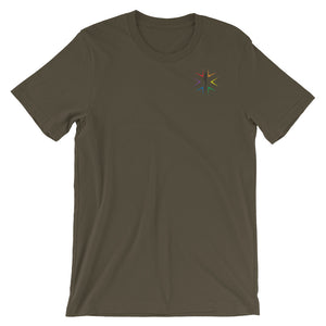 LGBT EMS & Friends T-Shirt - Uniformed Services Peer Council