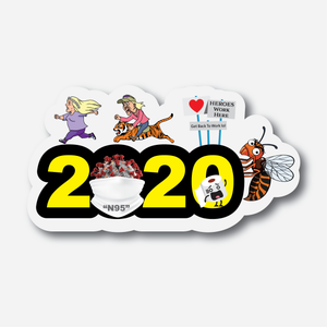 2020 Commemorative Sticker (Part One)