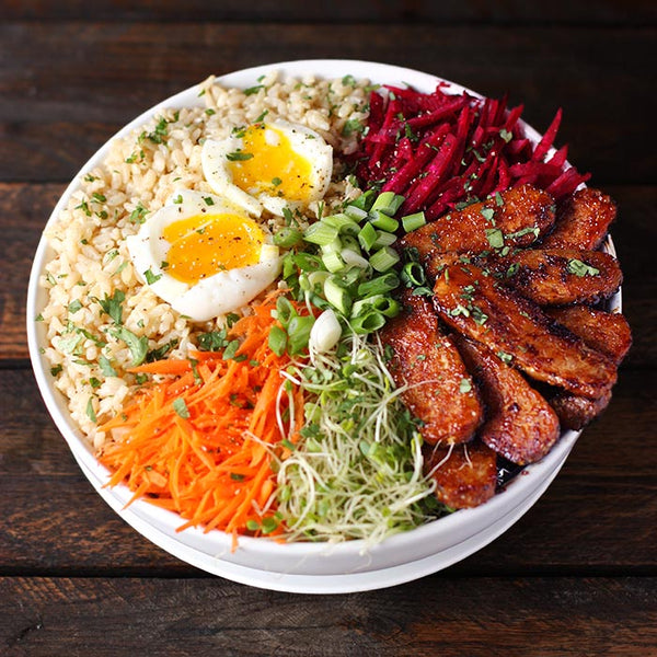 Smoky Tempeh Vegetable Fried Rice