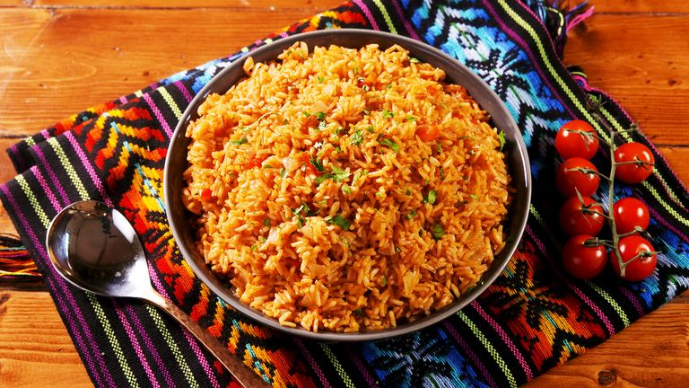 Tomato Garlic Spanish Rice