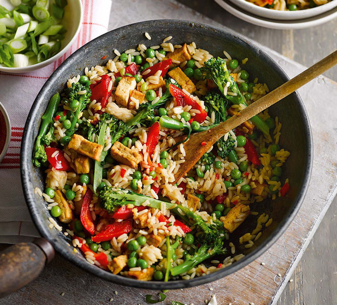 Vegetable Rice Bowl